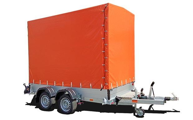 Přívěs pro silniční značkovací stroje: 2,5 tun