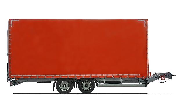 Přívěs pro silniční značkovací stroje: 9 tun