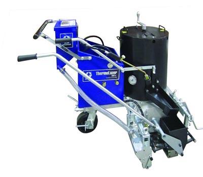 Graco ThermoLazer 200TC: ručně tlačený stroj pro pokládku horkých plastů